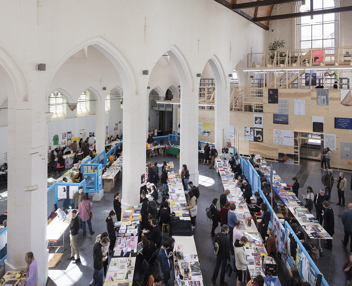 Ghent Art Book Fair Zine Happening V